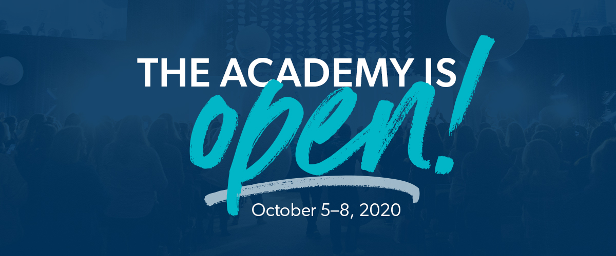 The Academy is open